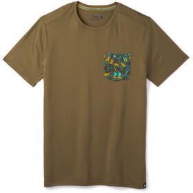 Smartwool Merino 150 T-shirt Poche de poitrine Homme, military olive